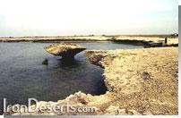دریاچه نمک هامون جازموریان