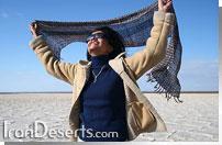 دریاچه نمک آران - مرنجاب