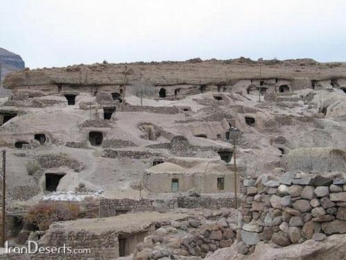 نمایی از روستای میمند شهربابک