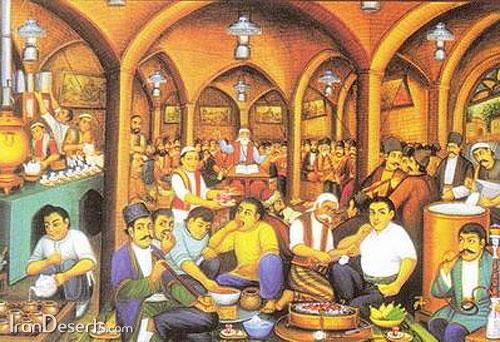 عکس قهوه خانه سنتی