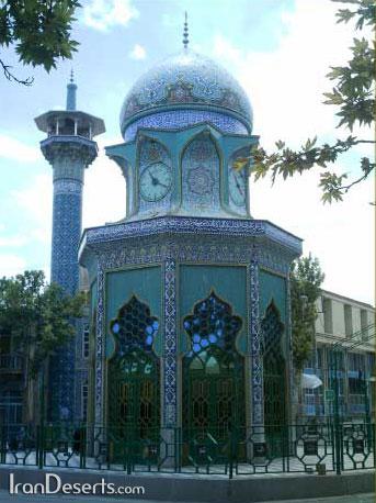مرقد مطهر امامزاده شیرخدا  تصاویر از وب سایت راین
