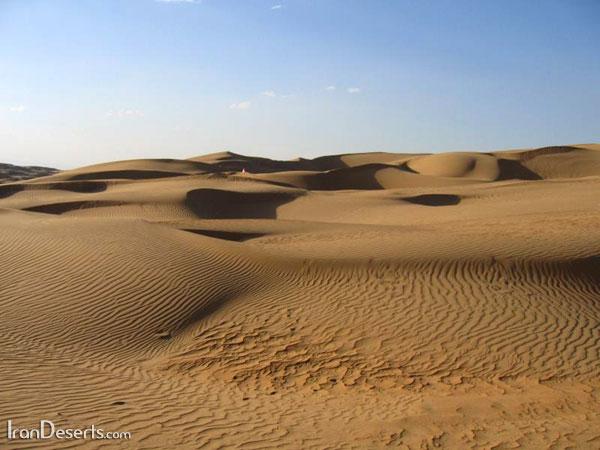 رملهای اطراف روستای مصر