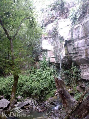 آبشار لولوم، مینودشت