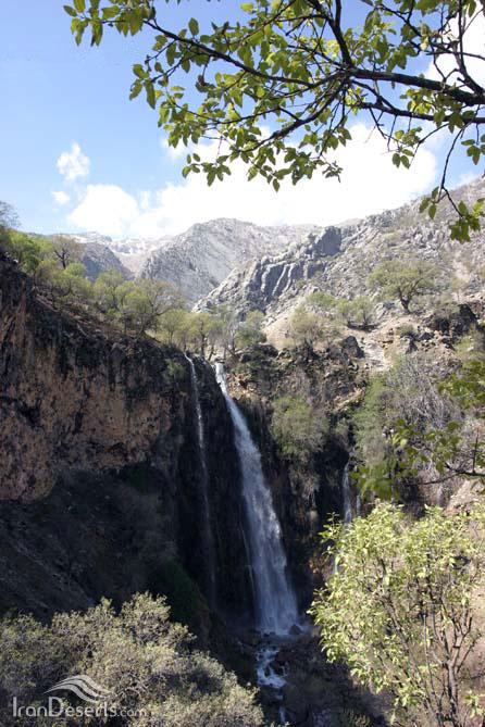 آبشار شیوند، ایذه، عکس از جابر احمدی