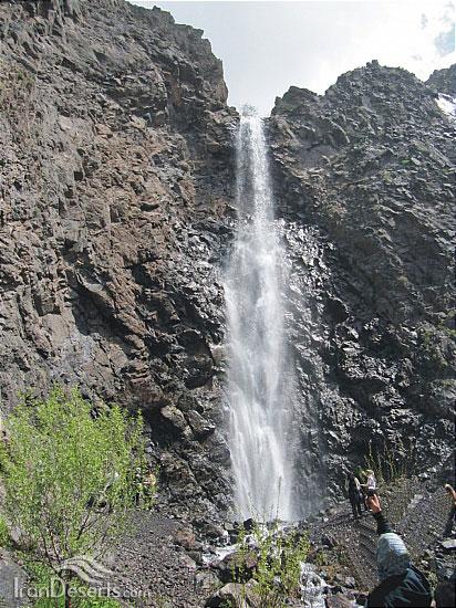 آبشار شلبن، طالقان