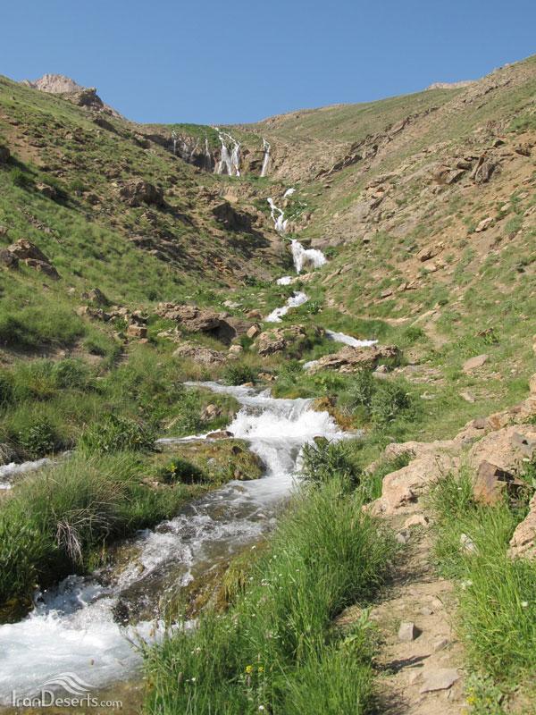 آبشار دشت لار، آمل-لاریجان