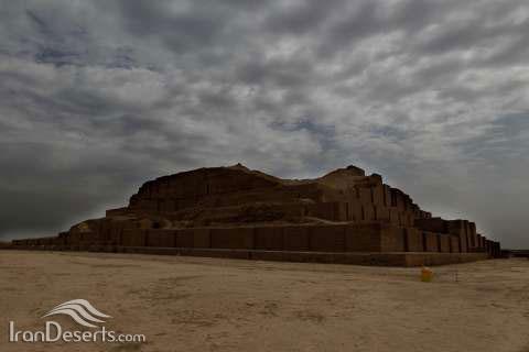 معبد زیگورات چغازنبیل، شوش