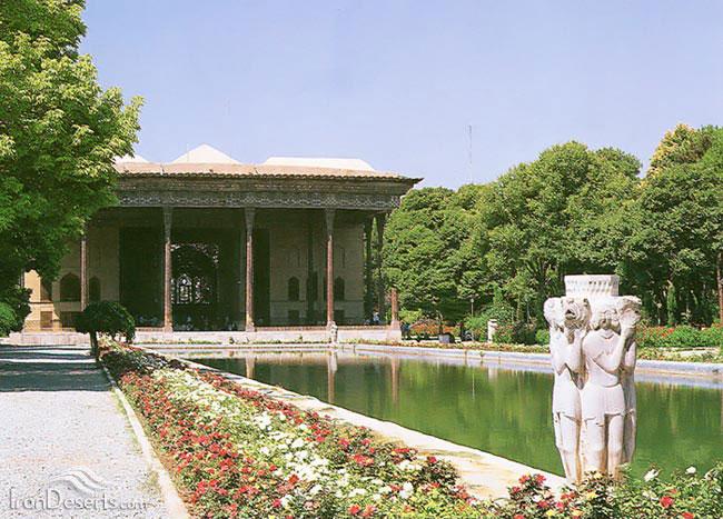 باغ چهلستون، اصفهان