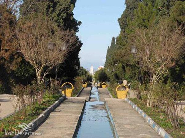 باغ چهلستون اشرف، بهشهر