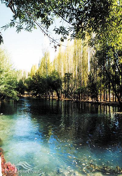 باغ چشمه علی، دامغان