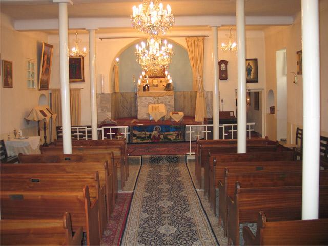 کلیسای میناس مقدس، تهران