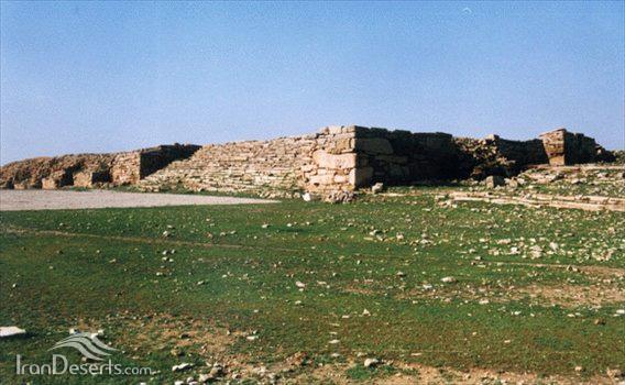 آتشکده جاویدا (سر مسجد)، مسجدسلیمان