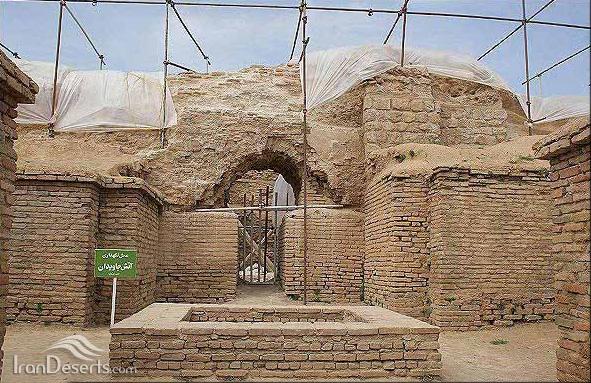 آتشکده آذرگشسب یا آذرجشنس، تخت سلیمان
