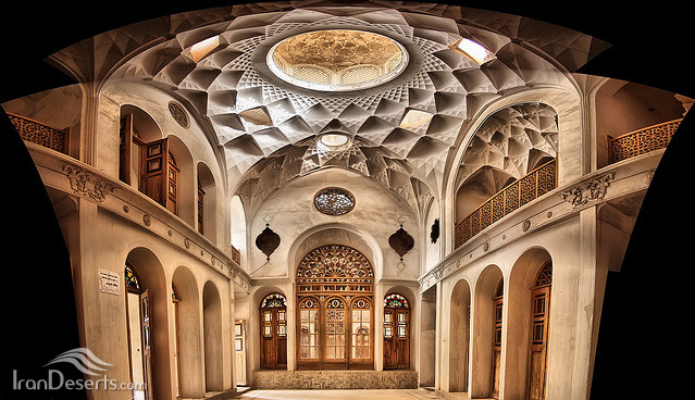 خانه عامری ها، کاشان، عکس از آرش کریمی
