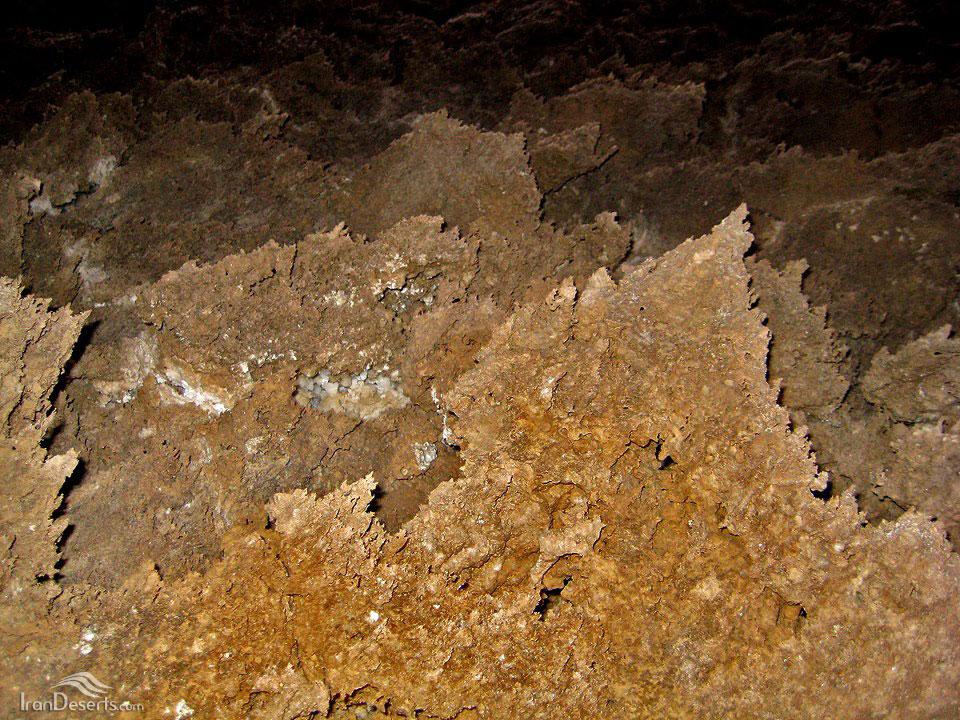 کویر طبقه یا نمک سیاه در جنوب کویر مرکزی ایران