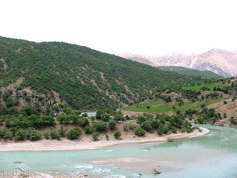 نتیجه تصویری برای منطقه حفاظت شده شیمبار و سد کارون