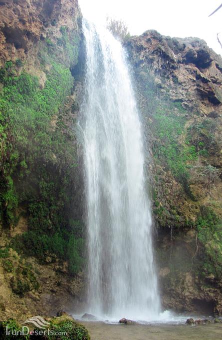 آبشار آبگرم، کلات
