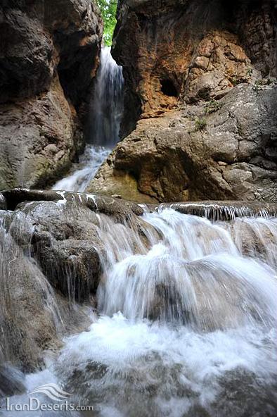 طبیعت آبشار آق سو، پارک ملی گلستان