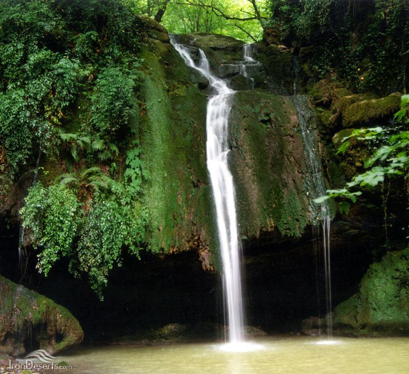 آبشار رنگو، گرگان