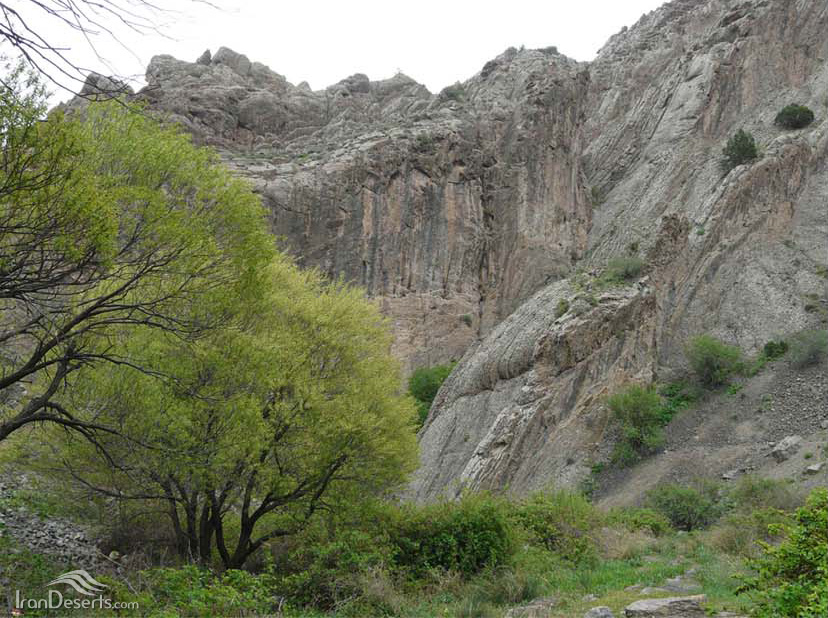 آبشار زاوین، کلات