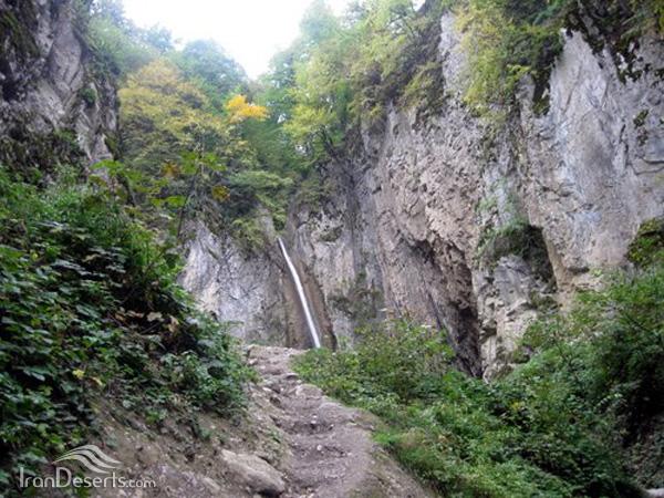 آبشار زیارت، گرگان