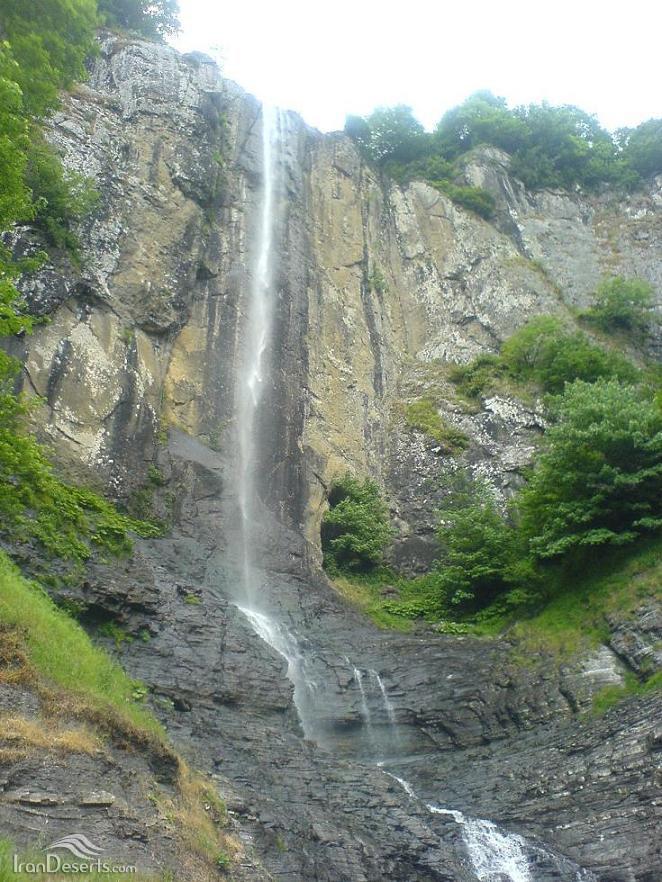 آبشار لاتون، آستارا