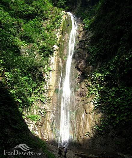 آبشار هفت طبقه (شادان)، کردکوی
