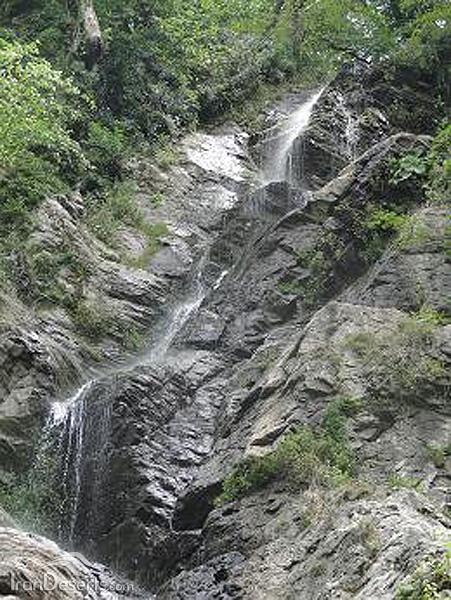 آبشار لاملیچ (چلم)