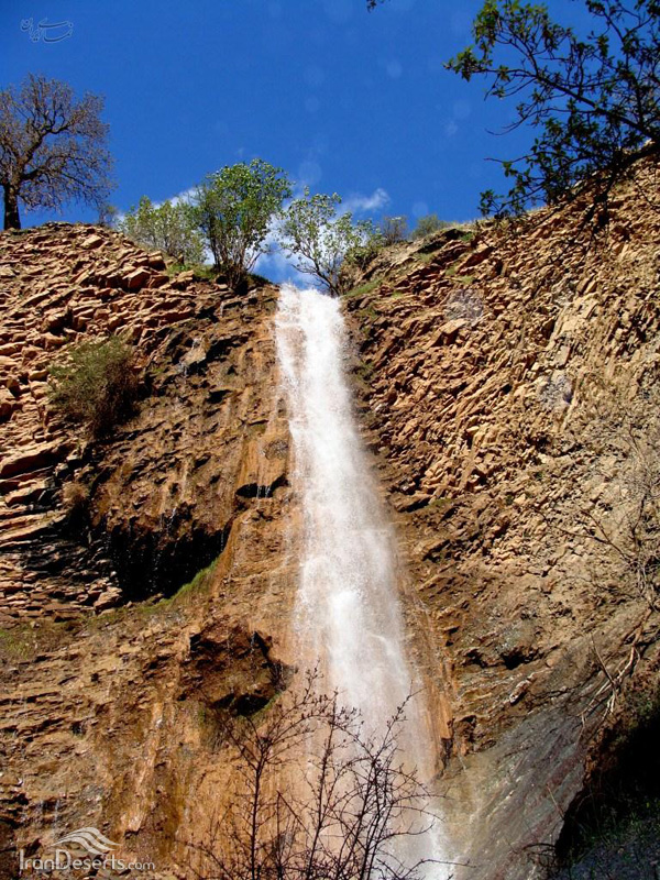 آبشار شولخه، پاوه