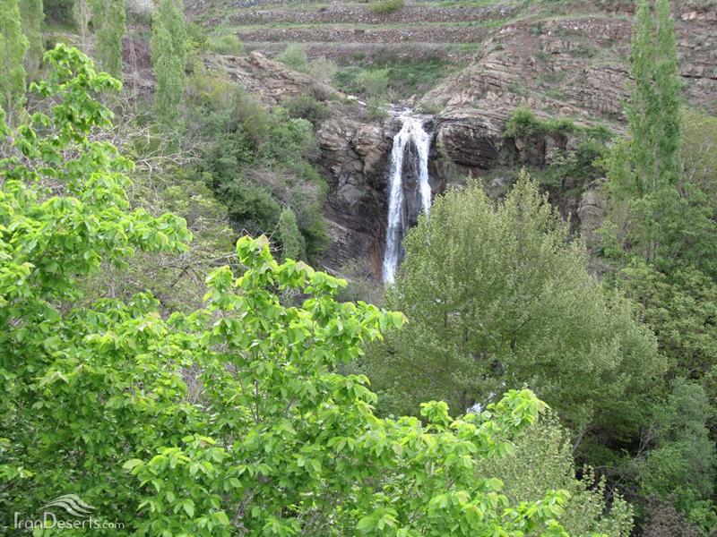 آبشار افجه (پسکوهک)، لواسانات