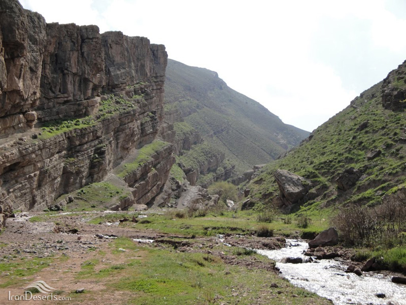 مسیر آبشار آبگرم، کلات