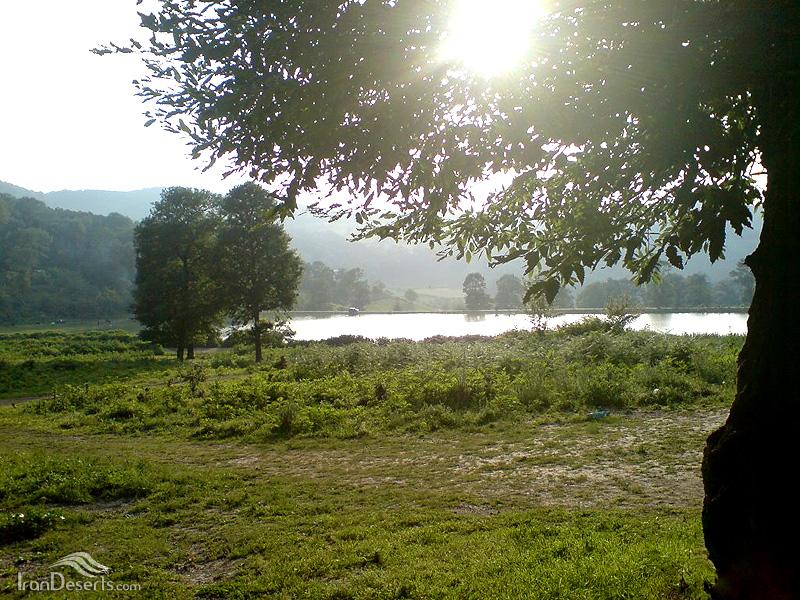 دریاچه سد توشن، گرگان