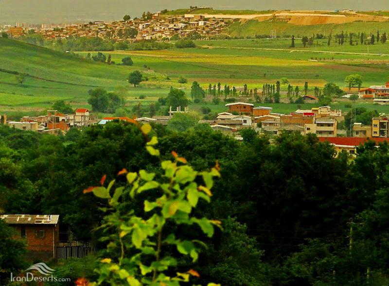 طبیعت روستای توشن، گرگان