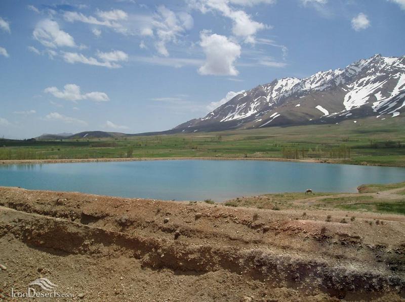 دریاچه سد افوس، فریدن