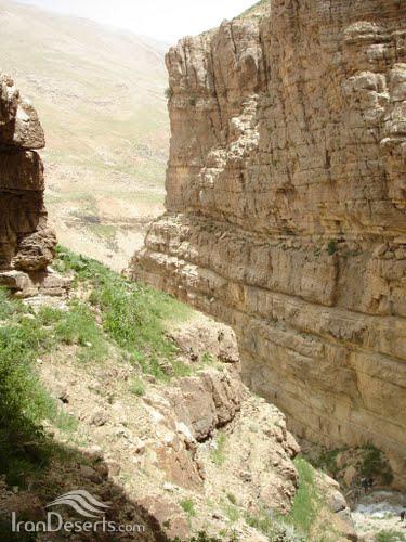 آبشار خفر، سمیرم-دنا