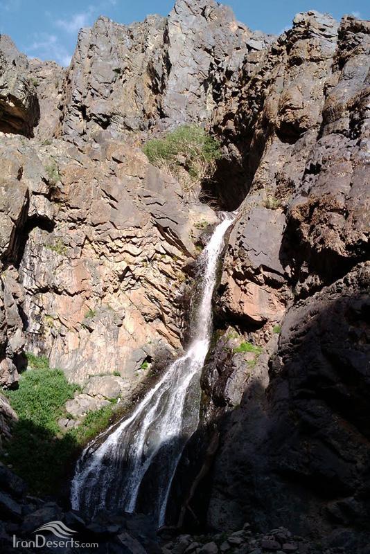آبشار کوه شاه، رابر
