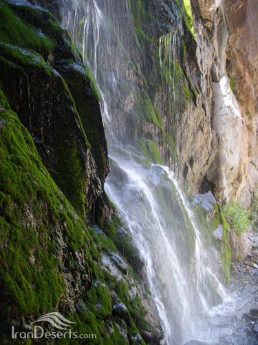 آبشار دوم خوشکار، بافت