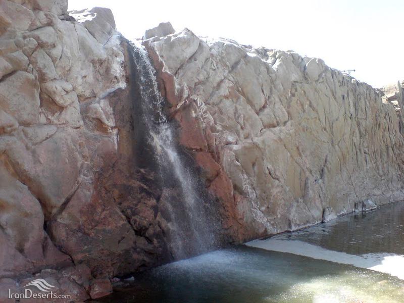 آبشار نمک، دزفول