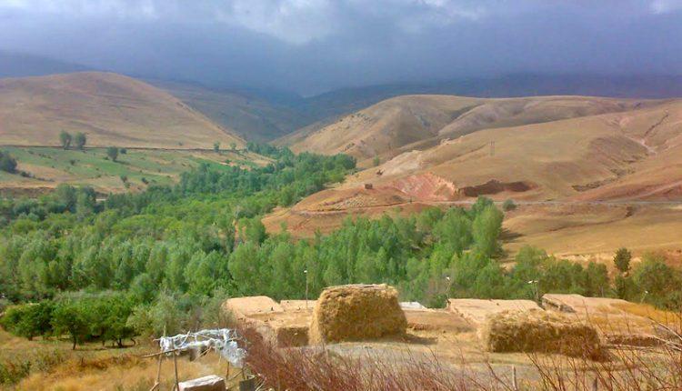 طبیعت روستای قاضی کندی، ماهنشان