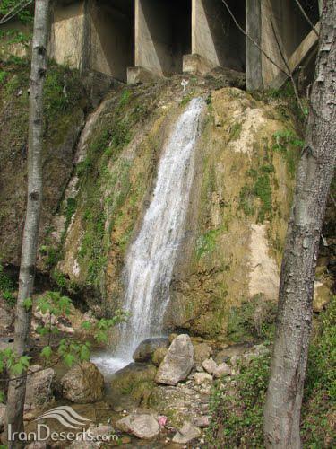 آبشار میان کلا، شیرگاه