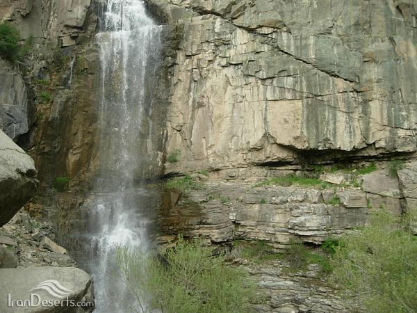 آبشار ورچور، قزوین