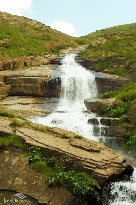 آبشار نمار (دریوک)، آمل