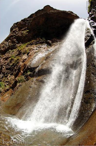 آبشار کندعلیا (کفترلو)، لواسانات