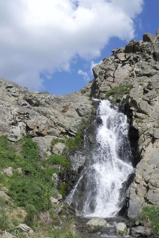 آبشار پریشان، سنقر