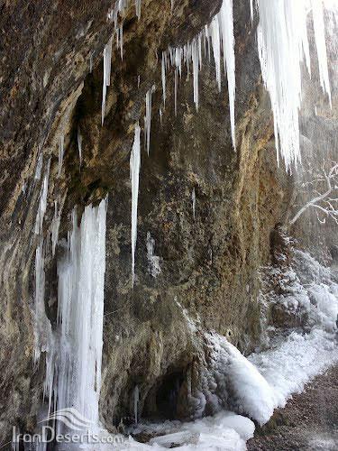 آبشار چیکان، سپیدان