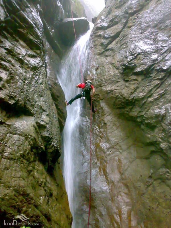آبشارهای دره تل انبار، گرگان