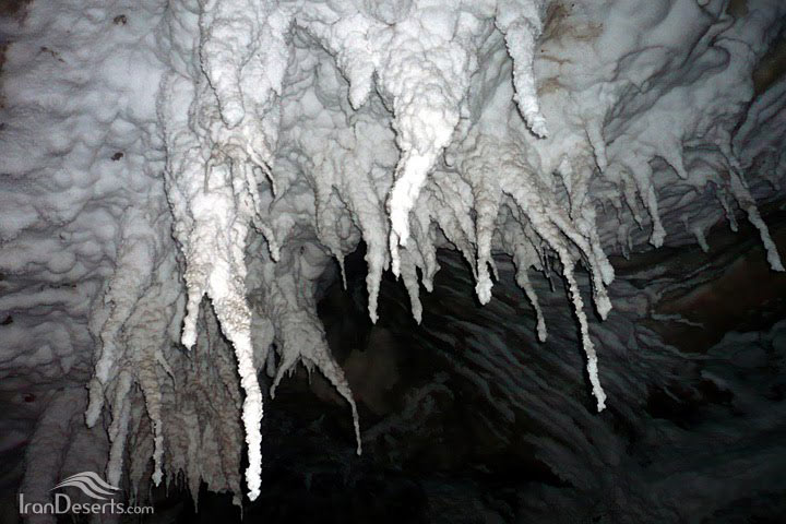 غار گنبد نمکی قشم (نمکدان)