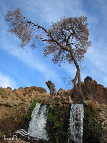 آبشار سربرج، بردسکن