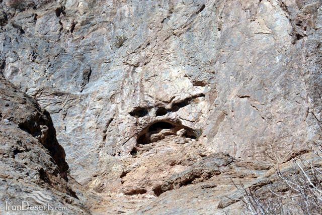غار سیر، بردسکن