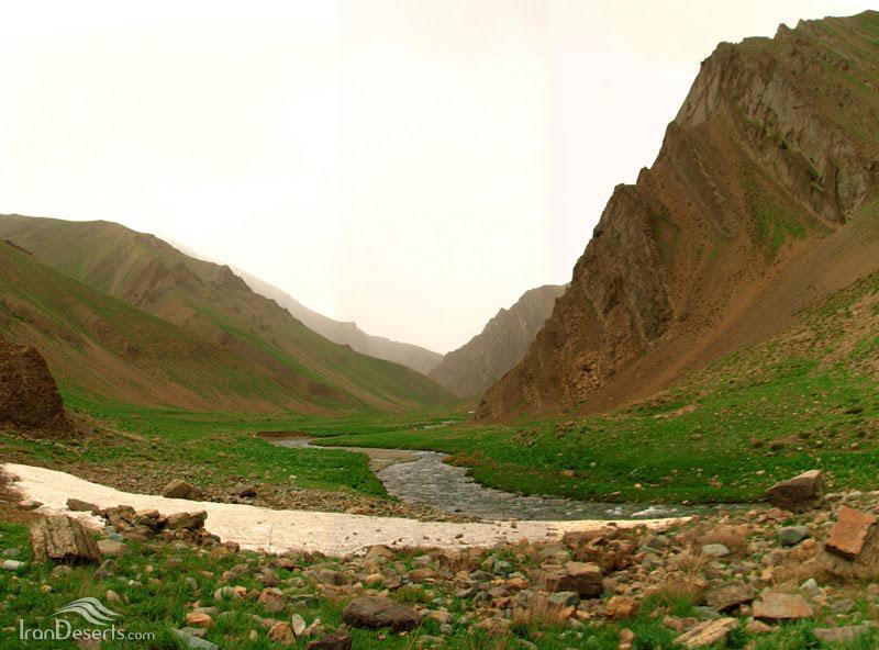 دره وارنگه رود،نسا